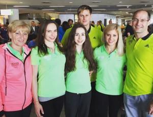 Německý tým v Baku