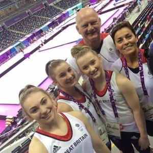 britský tým v Baku