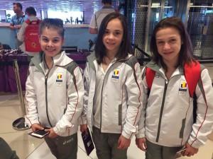 rumunský tým v BAku 2