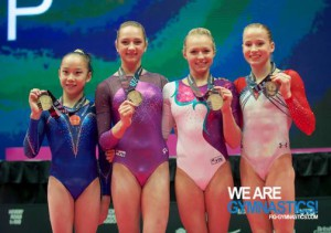 uneven bars - gold medals