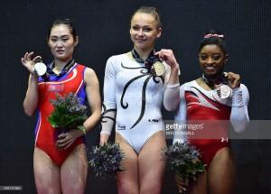 medailistk mistrovství světa Glasgow