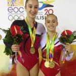 belgické gymnastky