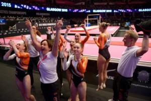 holandský tým glasgow gymnastika