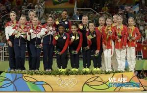 finale družstev medaile