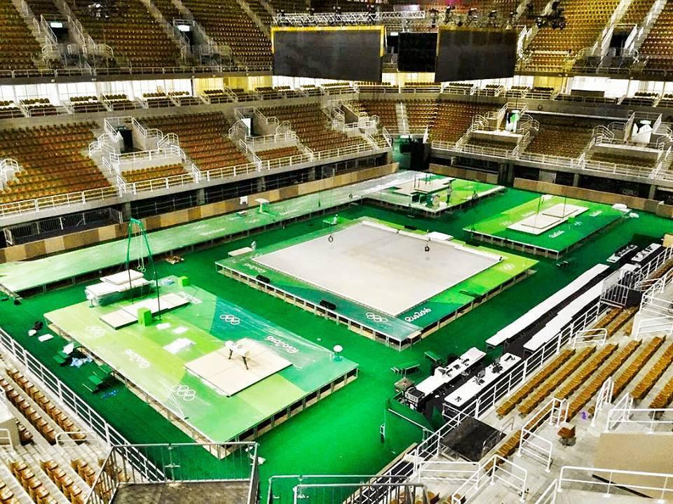 olympijsky stadion gymnastika