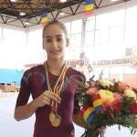 Olivia Cimpian_zdroj Facebook rumunské gymnastické federace
