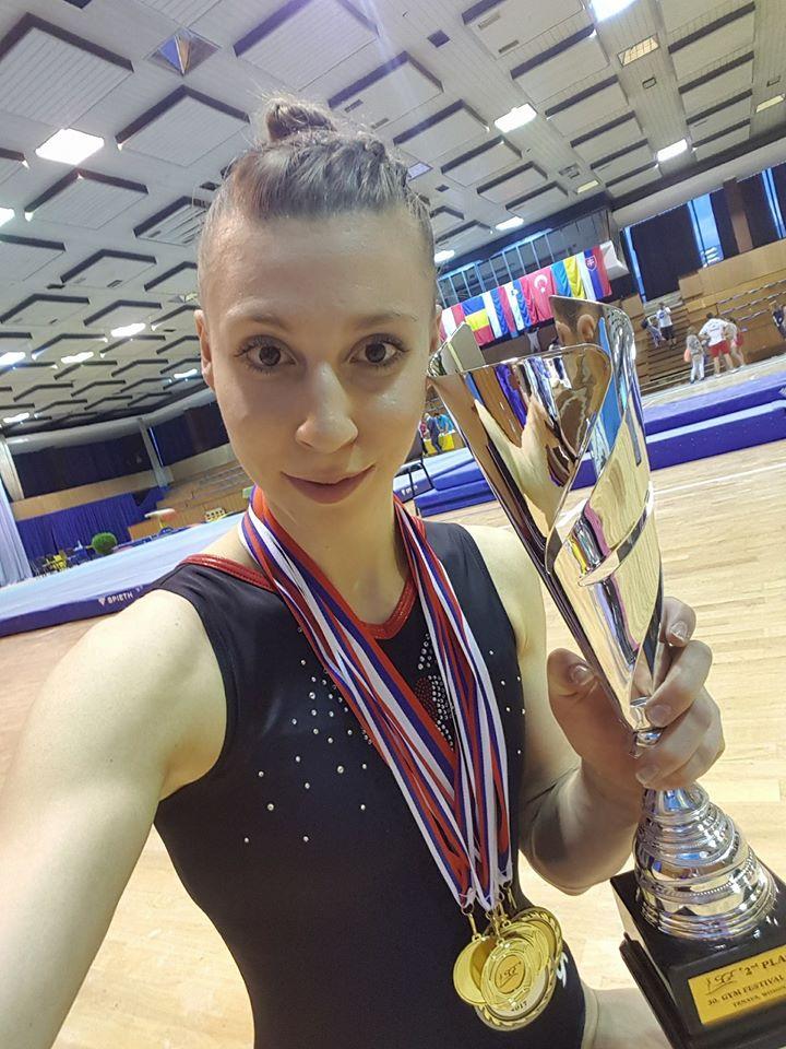 Barbora Mokošová. Zdroj: oficiální Facebooková stránka
