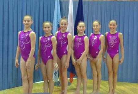 Gymnastky z brněnského sokola. Zdroj: web TJ Sokol Brno I