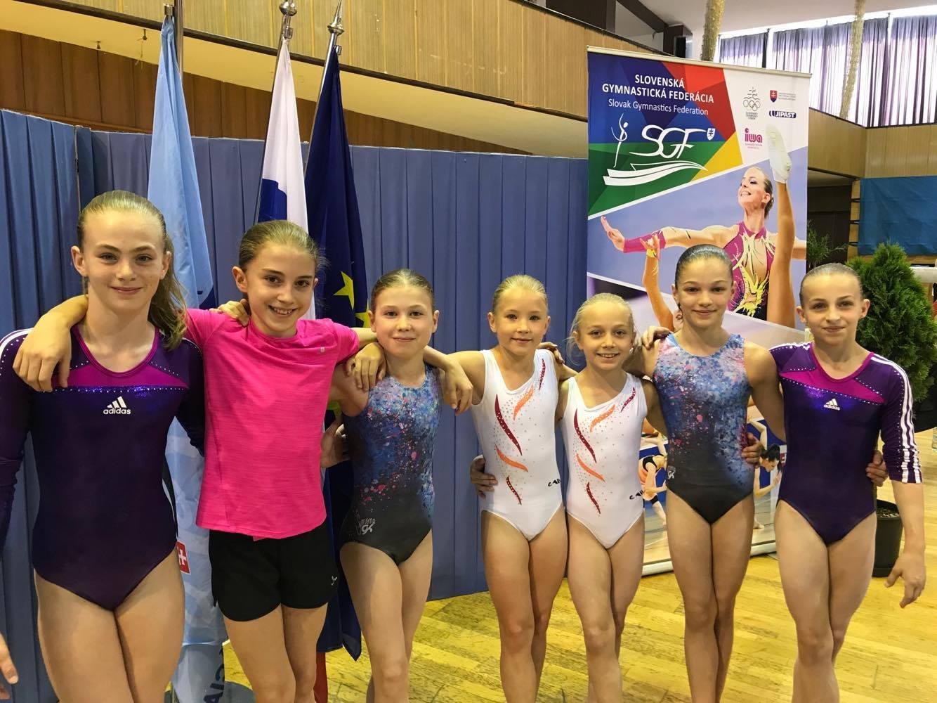 Malé gymnastky z TJ Bohemians. Autorka: Mirka Najmanová