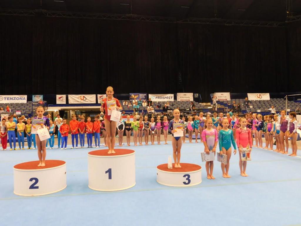 Stupně vítězů, žákyně A. Autorka: Jitka Strýhalová